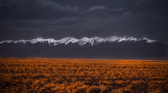 Dusk in the San Luis Valley